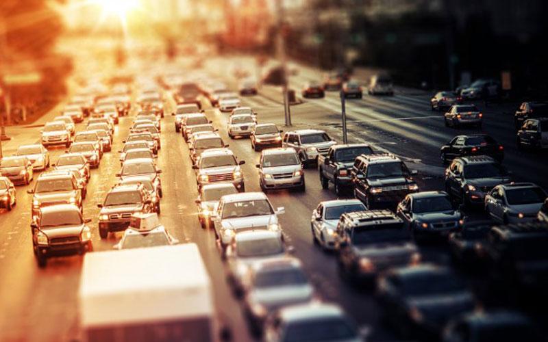 نقشه محدوده طرح ترافیک و زوج و فرد
